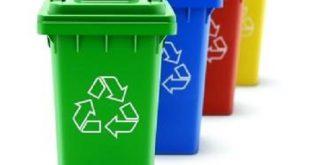 سطل زباله پلاستیکی شهری ارزان
