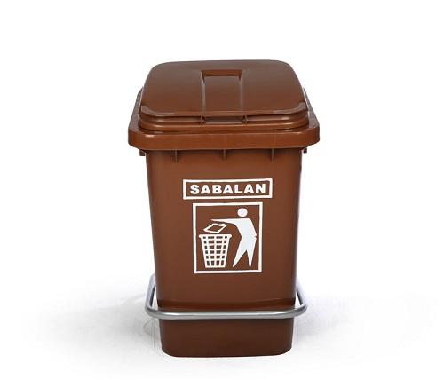 انواع سطل زباله پلاستیکی پدالی