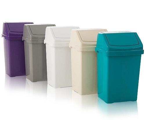 خرید عمده سطل زباله پلاستیکی اداری