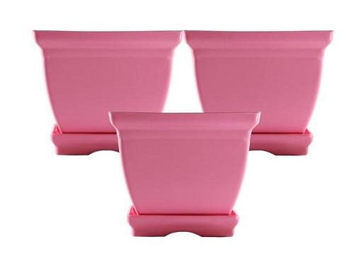 انواع گلدان پلاستیکی ارزان