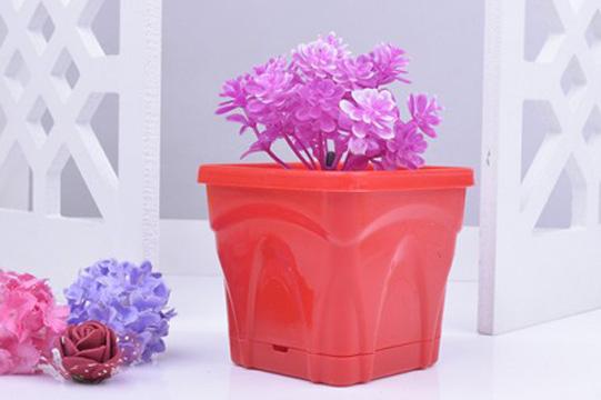 گلدان پلاستیکی تزئینی طرح کلاسیک