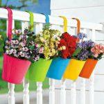 بهترین گلدان پلاستیکی تزئینی