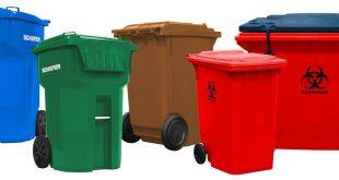 سطل زباله پلاستیکی شهری