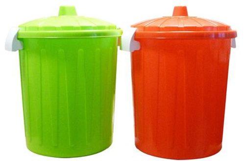 سطل زباله پلاستیکی درب دار