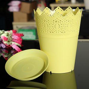 بهترین گلدان پلاستیکی دوطرفه