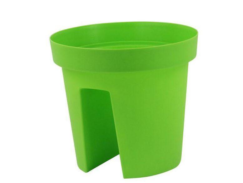 گلدان پلاستیکی رومیزی رنگی
